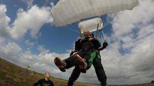 Skydiving-Herning-Tandem skydive in Herning, Denmark-4