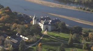 Microlight flying-Tours-Microlight aviation flight in Chenonceau over Châteaux de la Loire-2