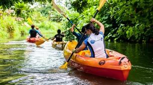 Canoë-kayak-Raiatea-Remontée de la rivière Faaroa en kayak sur l'île de Raiatea-5