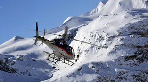 Helicoptère-Les Arcs, Paradiski-Vol en Hélicoptère au-dessus du Mont Blanc, Les Arcs-2