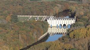 Microlight flying-Tours-Microlight aviation flight in Chenonceau over Châteaux de la Loire-4
