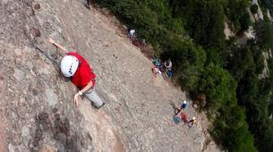 Rock climbing-Barcelona-Rock climbing initiation in Montserrat near Barcelona-2