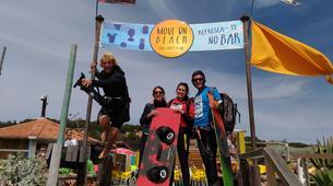 Kitesurfing-Praia do Guincho-Kitesurfing lessons in Praia do Guincho near Lisbon-5