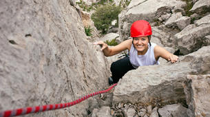 Rock climbing-Barcelona-Rock climbing initiation in Montserrat near Barcelona-3