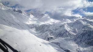 Helicoptère-Les Arcs, Paradiski-Vol en Hélicoptère au-dessus du Mont Blanc, Les Arcs-1