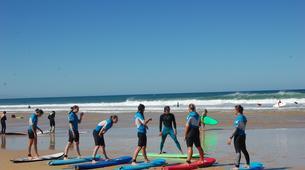 Surf-Seignosse-Cours de surf sur les plages de Seignosse-2