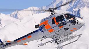 Helicoptère-Les Arcs, Paradiski-Vol en Hélicoptère au-dessus du Mont Blanc, Les Arcs-5