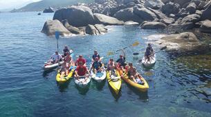 Kayak de mer-Propriano-Randonnée Kayak de Mer dans la Baie de Campomoro près de Propriano-1