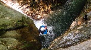 Canyoning-Pelion-Initiation and technical canyons in Pelion, Greece-2