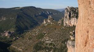 Rock climbing-Gorges du Tarn-Escalade en Grande Voie dans les Gorges de la Jonte-5