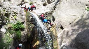 Canyoning-Ardèche-Canyon aventure dans les gorges de la Bourges, Ardèche-2