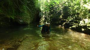 Canyoning-Pelion-Initiation and technical canyons in Pelion, Greece-5