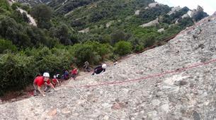 Rock climbing-Barcelona-Rock climbing initiation in Montserrat near Barcelona-4