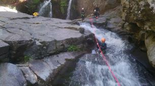 Canyoning-Gorges du Tarn-Canyoning dans les Gorges du Tapoul, les Cévennes-1