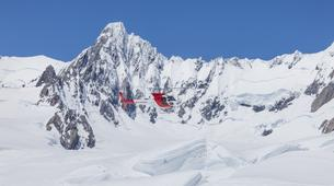 Helicopter tours-Franz Josef Glacier-Fox & Franz Josef Twin Glacier scenic heli flight with snow landing-5