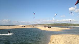 Kitesurfing-Praia do Guincho-Kitesurfing lessons in Praia do Guincho near Lisbon-6