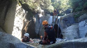 Canyoning-Ticino-Heli canyoning excursion in Boggera Canyon, Ticino-4