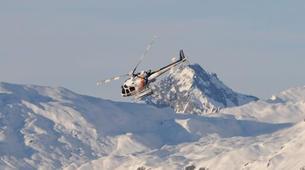Helicoptère-Les Arcs, Paradiski-Vol en Hélicoptère au-dessus du Mont Blanc, Les Arcs-3