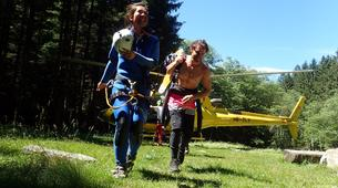 Canyoning-Ticino-Heli canyoning excursion in Boggera Canyon, Ticino-6