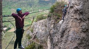 Via Ferrata-Gorges du Tarn-Via Ferrata de Liaucous dans les Gorges du Tarn-5