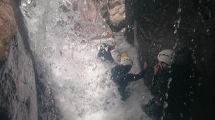 Canyoning-Gorges du Tarn-Canyoning dans les Gorges du Tapoul, les Cévennes-3