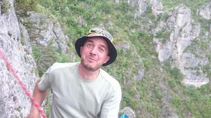 Rock climbing-Gorges du Tarn-Escalade dans les Gorges du Tarn, les Cévennes-2