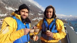 Kayaking-Interlaken-Winter kayaking tour on Lake Brienz, Interlaken-5