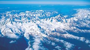 Helicopter tours-Franz Josef Glacier-Mount Cook scenic heli flight with glacier landing-4