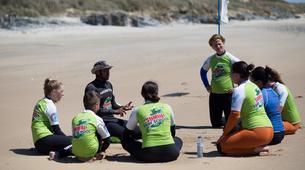 Surfing-Sines-Surf lesson and course on Praia Da Vieirinha near Sines-13