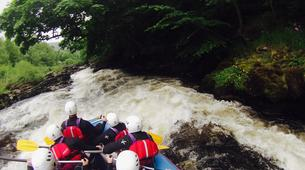 Rafting-Denbighshire-Rafting down the River Dee in Llangollen-4