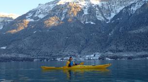 Kayaking-Interlaken-Winter kayaking tour on Lake Brienz, Interlaken-3