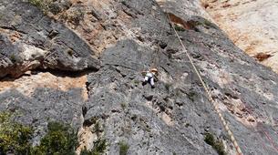 Rock climbing-Gorges du Tarn-Escalade dans les Gorges du Tarn, les Cévennes-5
