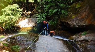 Canyoning-Pelion-Initiation and technical canyons in Pelion, Greece-6