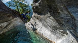 Canyoning-Tessin-Boggera Canyon in Ticino-1