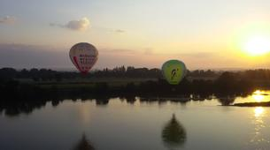 Hot Air Ballooning-Saumur-Hot air balloon flight over Saumur near Tours-4