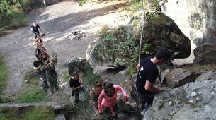 Rock climbing-Fontainebleau-Multi-Aventure dans la forêt de Fontainebleau-10