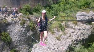 Via Ferrata-Gorges du Tarn-Via Ferrata de Liaucous dans les Gorges du Tarn-2