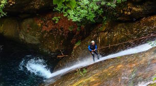Canyoning-Pelion-Initiation and technical canyons in Pelion, Greece-3