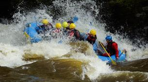 Rafting-Denbighshire-Rafting down the River Dee in Llangollen-1