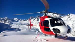 Helicopter tours-Franz Josef Glacier-Fox & Franz Josef Twin Glacier scenic heli flight with snow landing-1