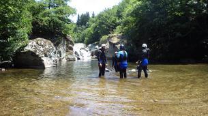 Canyoning-Gorges du Tarn-Canyoning dans les Gorges de la Dourbie, les Cévennes-2