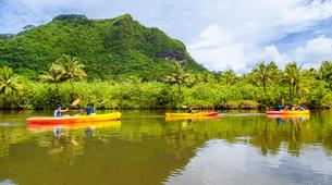 Canoë-kayak-Raiatea-Remontée de la rivière Faaroa en kayak sur l'île de Raiatea-2