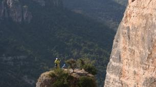 Rock climbing-Gorges du Tarn-Escalade en Grande Voie dans les Gorges de la Jonte-1