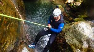 Canyoning-Pelion-Initiation and technical canyons in Pelion, Greece-1