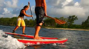 Stand Up Paddle-Cap Malheureux - Anse La Raie-Randonnée Stand Up Paddle sur la côte est de l'île Maurice-1