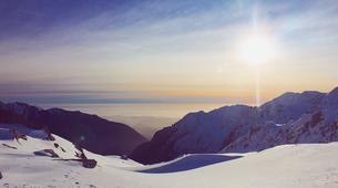 Helicopter tours-Franz Josef Glacier-Franz Josef Glacier heli flight with snow landing-4