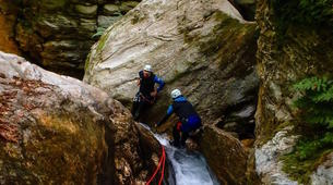 Canyoning-Pelion-Initiation and technical canyons in Pelion, Greece-4