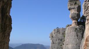 Rock climbing-Gorges du Tarn-Escalade en Grande Voie dans les Gorges de la Jonte-4