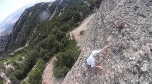 Rock climbing-Barcelona-Rock climbing initiation in Montserrat near Barcelona-1