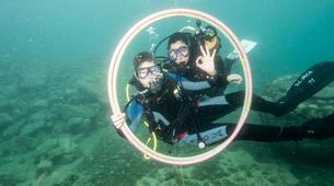 Plongée sous-marine-Pula-First Dive in Pula, Croatia-4